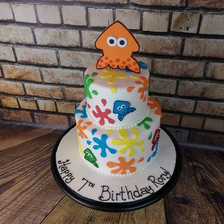Image result for splatoon cakes