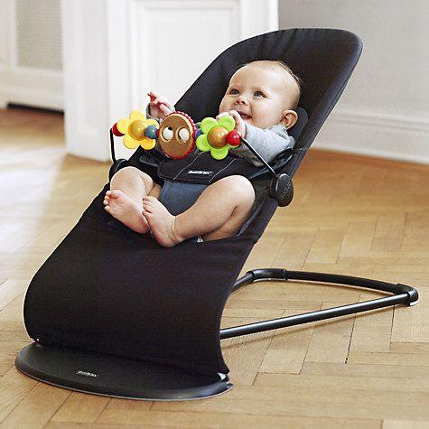 Buy BabyBjörn Bouncer Balance Soft, Black/Grey Online at johnlewis.com