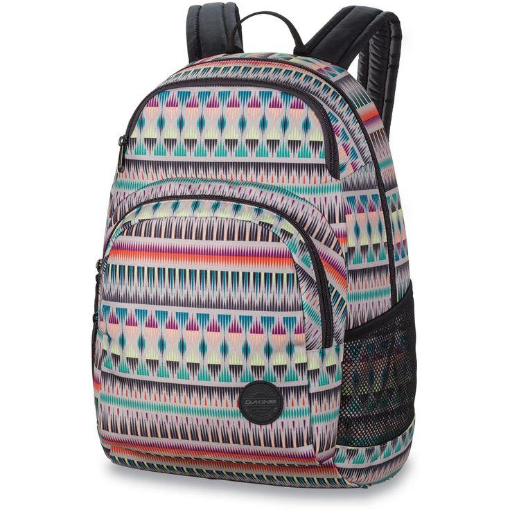 Der  geräumige Dakine Hana 26L Rucksack  ist ein  praktischer Schulrucksack für Mädls,  der sich mit einem Reißverschluss ganz praktisch öffnen, beladen und wieder verschließen lässt. Der  Dakine Freizeitrucksack  bietet ausreichend...