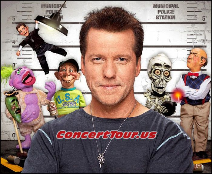 www.ConcertTour.us - Here is JEFF DUNHAM with most of his characters and crew. Jose Jalapeno On A Stick, Peanut, Bubba J, Achmed, Walter and Little Jeff.