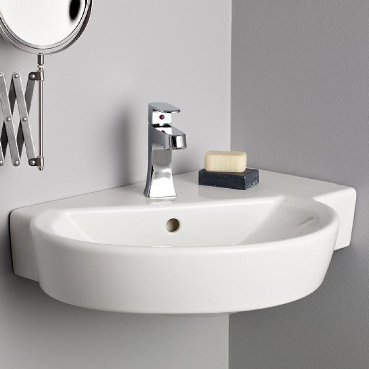 small wall mount sink small corner sinks corner bathroom sink bathroom ...