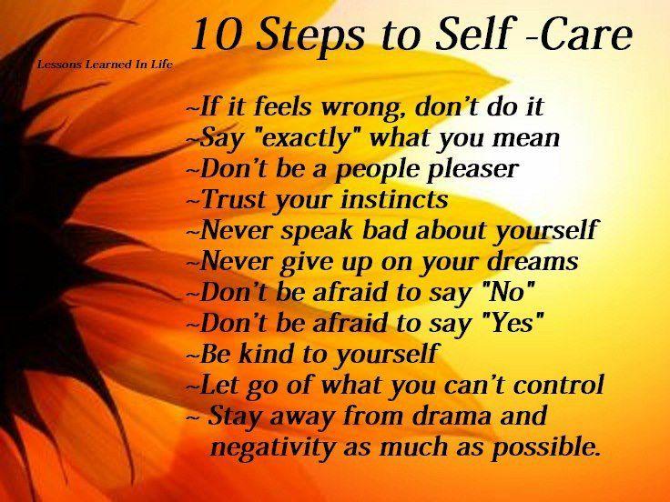 10steps to self care