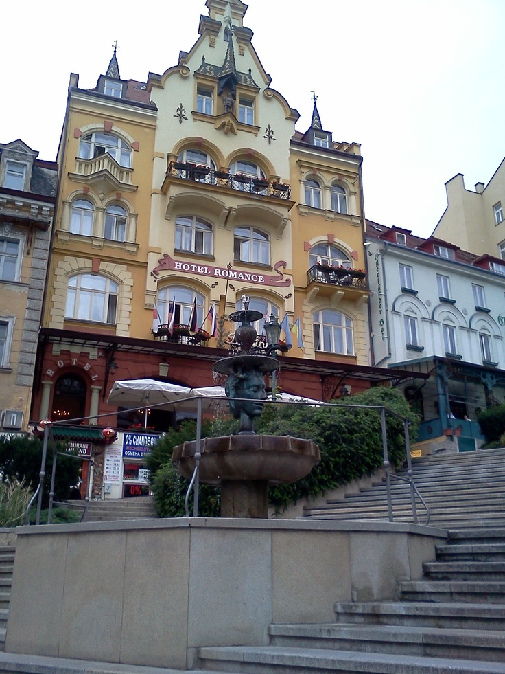 The beautiful architecture of Karlovi Vari, Czech Republic ♒ www.pinterest.com/WhoLoves/Beautiful-Buildings ♒  #Architecture