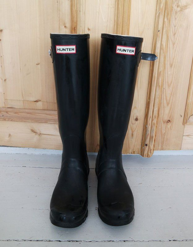 Hunter boots⎟STYLE NOTES