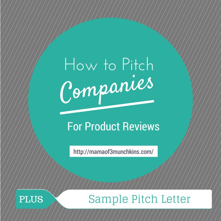 What Is a Pitch Letter For?