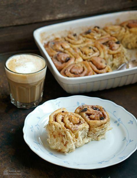 Saftige amerikanische Zimtschnecken | Madame Cuisine Rezept
