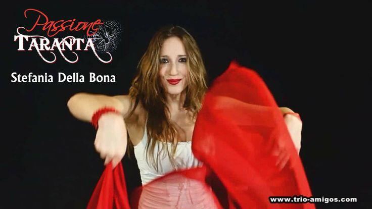 PASSIONE TARANTA - Stefania Della Bona (#dancer #ballerina) dancing #pizzica #taranta #music from #salento #puglia #italy