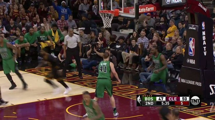 Kyrie Irving uses his crossover to get to the rim for the Cleveland Cavaliers!