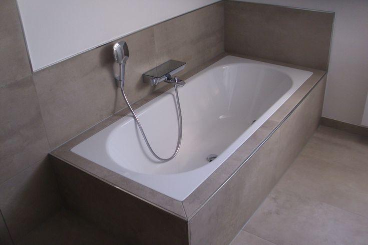badewanne fliesen betonoptik fliesen pinterest. Black Bedroom Furniture Sets. Home Design Ideas
