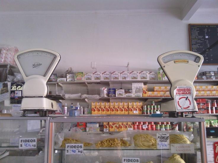 Fresh pasta shop in Buenos Aires