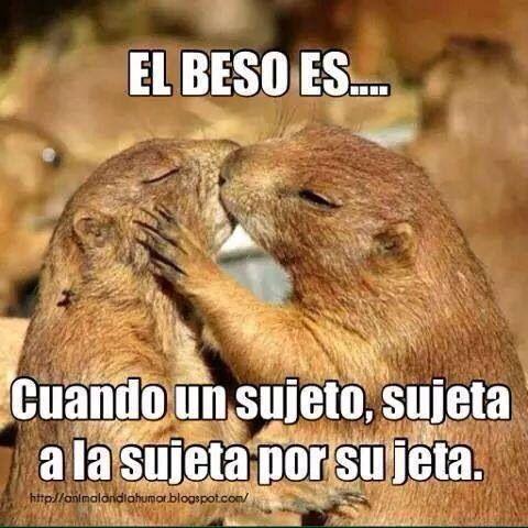 El beso es...