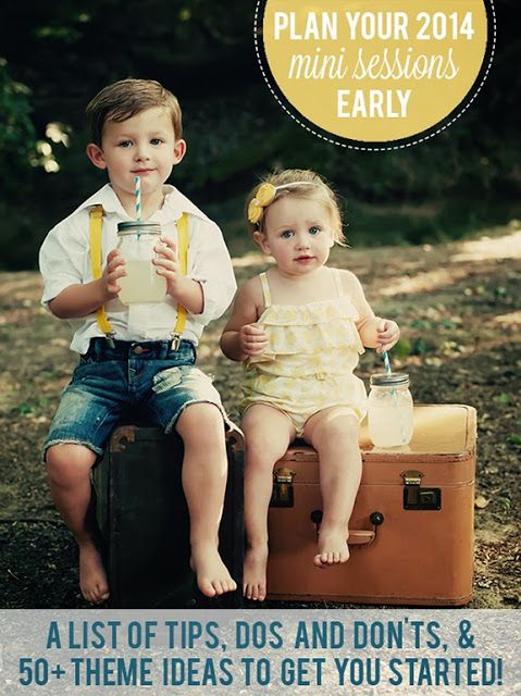 every little adventure: Plan Your 2014 Mini Sessions Early. Mini session themes, ideas, inspiration. #minisessions