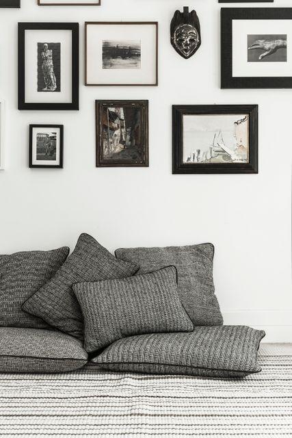 Barracan cushions