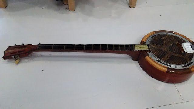 自宅録音研究所|Recording Audio At Home: いろいろと謎な蛇皮チャイニーズバンジョー三絃:Chinese Banjo|メンテナンス