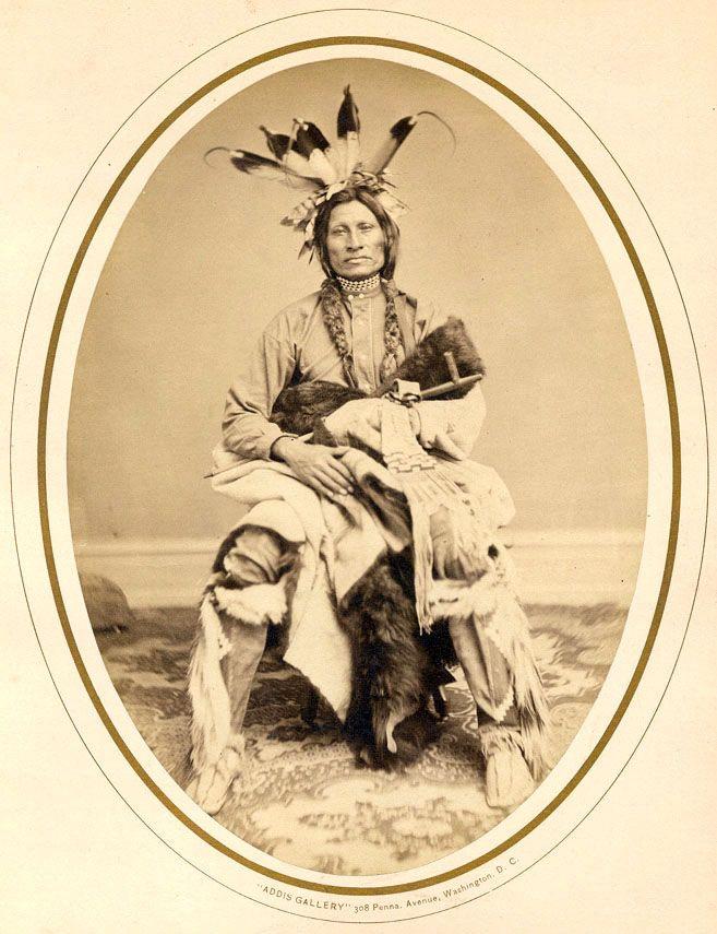 I could stare at his face for a long, long time.  Psi Ca Na Kin Yan (Jumping Thunder) - Yankton Sioux Chief 1867