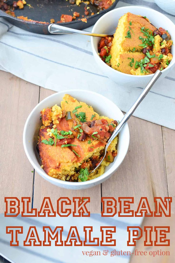 Black Bean Tamale Pie Delish Knowledge Recipe In 2020 Tamale Pie Homemade Cornbread Weeknight Meals