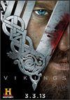 """""""Vikingos (Vikings) 2ª Temporada"""" Serie de TV (2013-Actualidad). Narra las aventuras del héroe Ragnar Lothbrok, de sus hermanos vikingos y su familia, cuando él se subleva para convertirse en el rey de las tribus vikingas. Además de ser un guerrero valiente, Ragnar encarna las tradiciones nórdicas de la devoción a los dioses. Según la leyenda era descendiente directo de Odín, el dios de la guerra.  SERIE DE TV"""