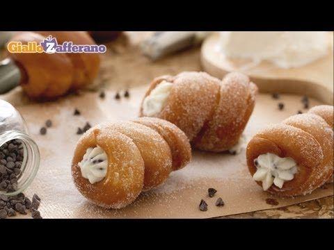 BlogStar - 1' edizione - Lorenza: http://blog.giallozafferano.it/maniamore/ - Cartocci Siciliani Fritti  #GialloZafferano #BlogGZ #Ricetta #Sicilia #Dolce