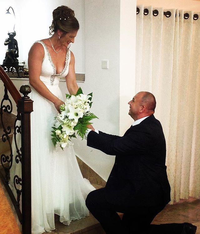 Alice Schlesinger really wins the gold now! Congratulations  #joy #weddings #weddinggown #weddingdress #bridalsalon #aliceschlesinger #truelove #purehappiness