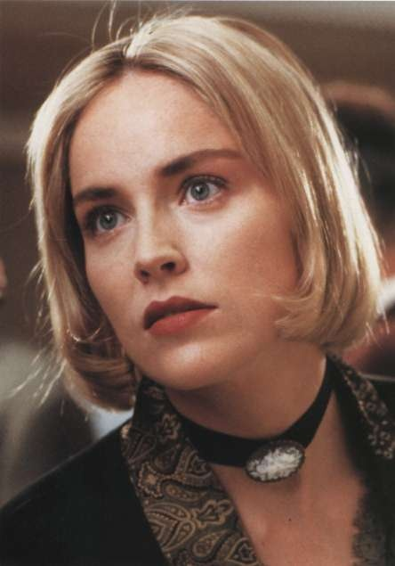 "Sharon Stone as Carly Norris in ""Sliver"", 1993"