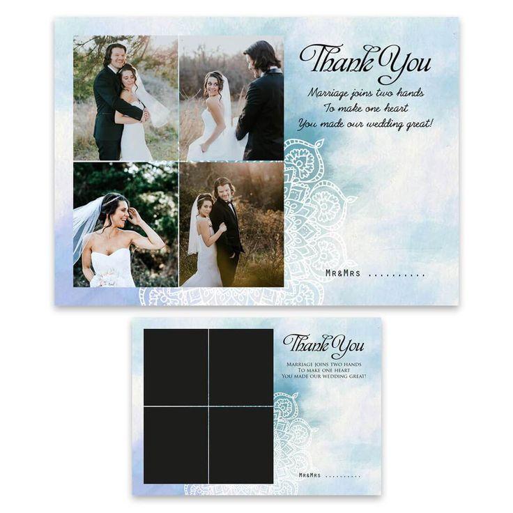 Bedankt kaart-flyer wedding 2