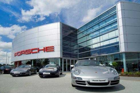 Amazing Porsche dealership