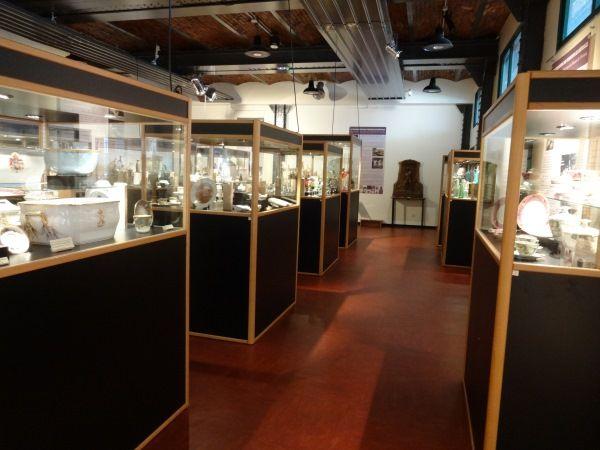 salle des arts du feu au musée de Vierzon