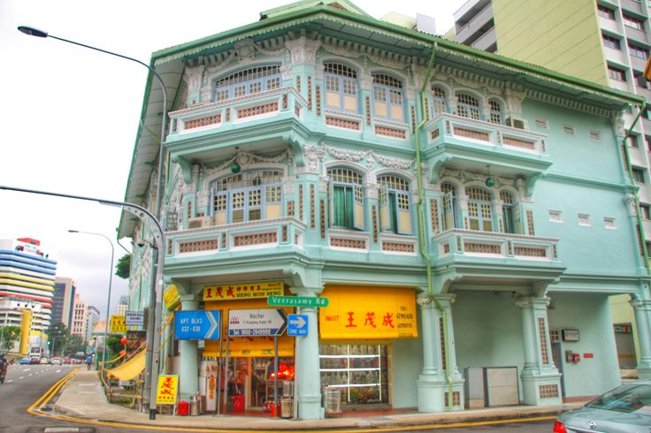 A cute house In Singapore