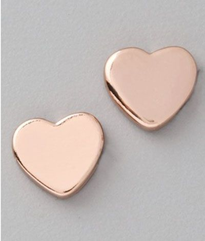 Marc by Marc Jacobs Mini Heart Studs #Vday