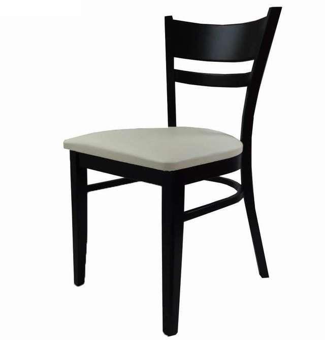 #silla_madera_haya #silla_tapizada)moderna www.superdeco.es