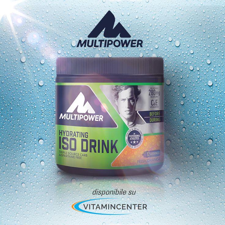 """Un #integratore da diluire per una bevanda isotonica dai molteplici benefici. È """"Iso Drink"""", ora su #VitaminCenter > www.vitamincenter.it/isodrink-420-g.html#product-detail-tab1"""