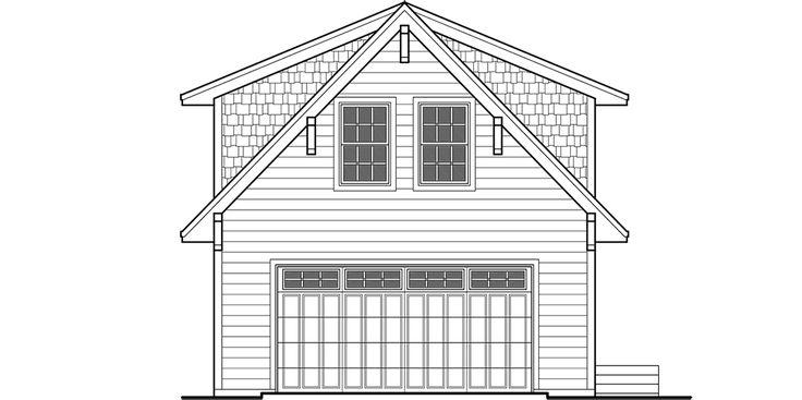 Garage Apartment House Plans ADU Carriage House Plan Art