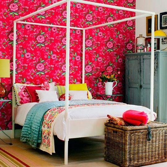 Cheerful Summer Interiors: 49 Inspiring Fresh Summer Bedroom Designs | DigsDigs
