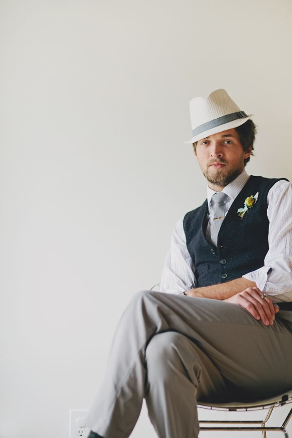 Stylin' Groom :  Jenna Trapasso of Red White and Green Photography