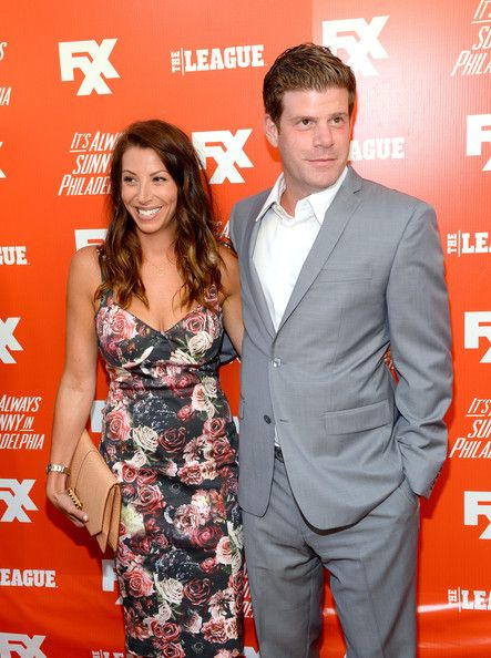 Actor Stephen Rannazzisi (R) and Tracy Rannazzisi attend the premiere and launch party for FXX Network's 'It's Always Sunny In Philadelphia' and 'The League' at Lure on September 3, 2013 in Hollywood, California.
