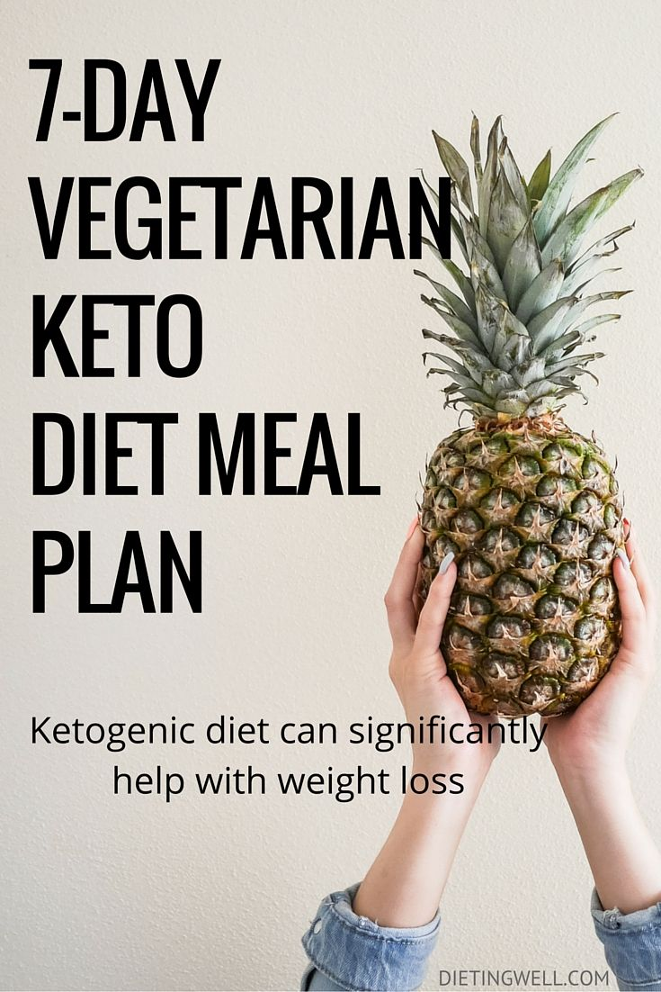 A ketogenic diet is a diet that is low in carbohydrates, high in fat, and has a moderate level of protein. This is a detailed meal plan for the vegetarian ketogenic diet. Foods to eat, foods to avoid and a sample 7-day vegetarian keto diet meal plan & menu.   https://dietingwell.com/vegetarian-keto-diet/