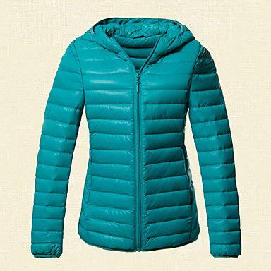Slim Down Jacket blue!