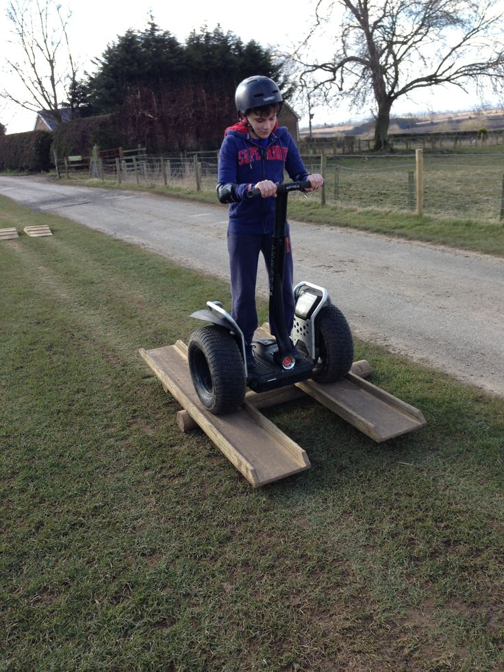 Segway See-Saw.  Yorkshire-outdoors.co.uk