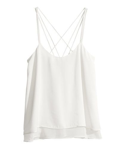 Satin top | Product Detail | H&M