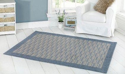 tappeto stile nordico blue