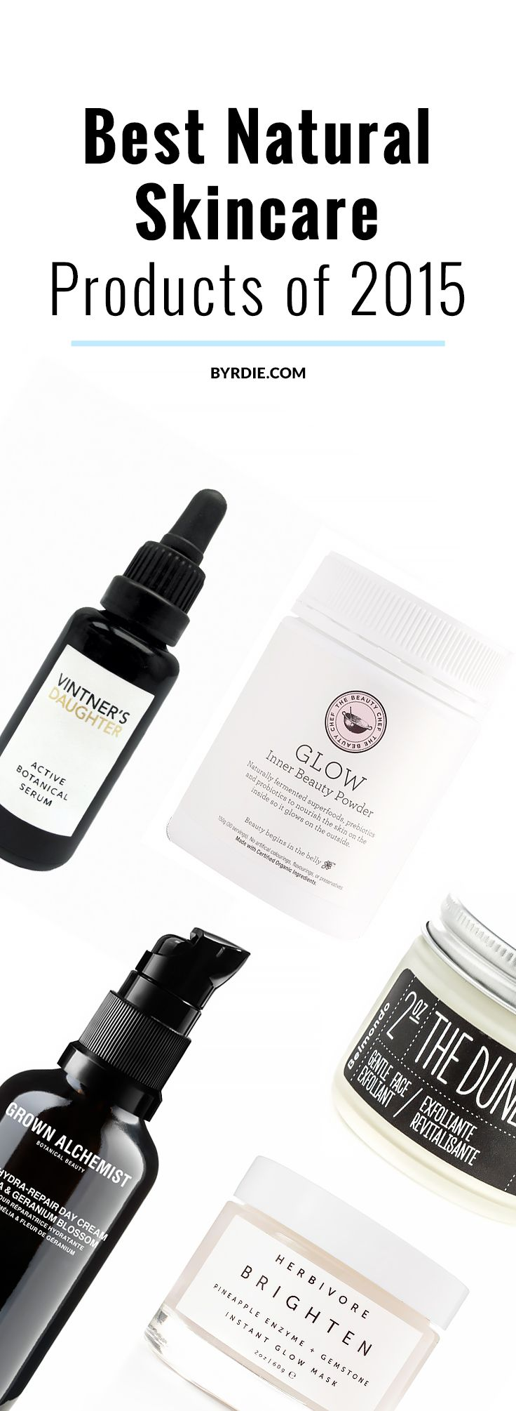 The best natural skincare products of 2015