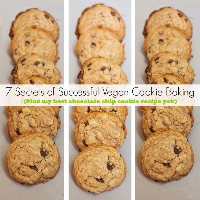 My Best Vegan Cookie Recipe Yet. Plus, 7 Secrets to Cookie Success! #cookies #vegan #dessert