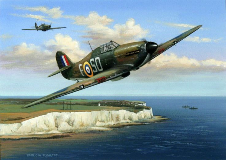 hawker hurricane british single seat fighter aircraft. Black Bedroom Furniture Sets. Home Design Ideas