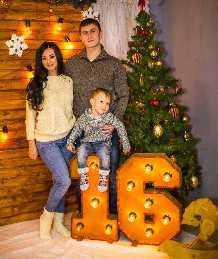 Family Christmas Photo Holiday Kids новый год Рождество елка праздник семейная фотосессия в студии фото 2016