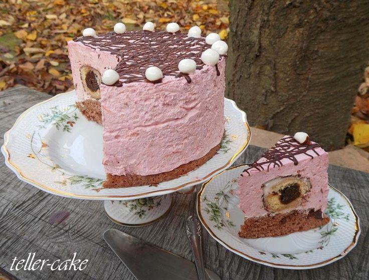 teller-cake: Szilvagombóc torta a magam módján