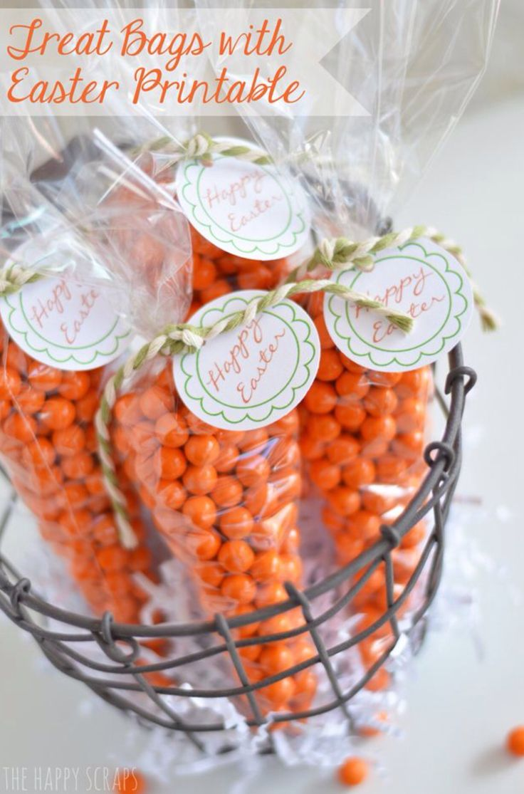 47 best kids craft ideas images on pinterest crafts for kids carrot treat bags with easter printable great for easter favors or for the kiddos baskets negle Image collections