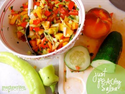 ... Peaches & Nectarines on Pinterest | Cucumber salsa, Grilled peaches