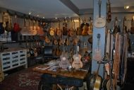 Check out Bluedog Guitars (N. Vancouver, BC, Canada) use of String Swing hangers!
