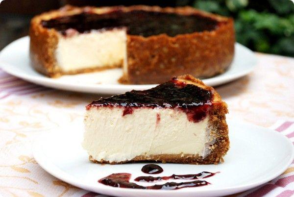 New York Cheesecake, hacerla en moldes individuales de magdalenas.