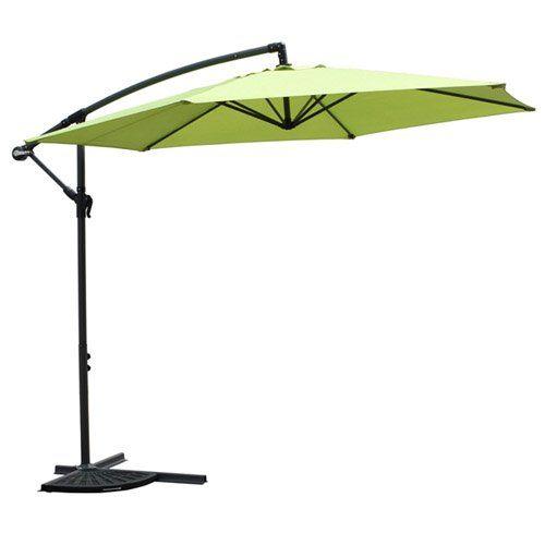 Have to have it. International Caravan Mesa 9.5-ft. Aluminum Cantilever Patio Umbrella - $180 @hayneedle.com